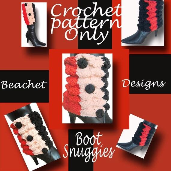 Crochet Boot Covers Pattern