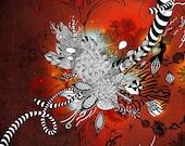 Wild Lily - Giclee Print, 11x14