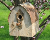 Gothic Arch Roof Birdhouse