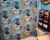 Bathroom Set Made with Vintage Star Wars Bed Sheet Ready To Ship