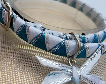 Kitten Collar Designer Blue Ice
