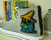 Final Fantasy Knit Chucks
