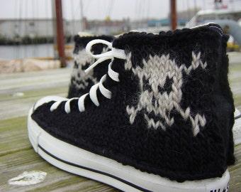 Pirate Knit Chucks
