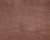 CORDUROY - 21 Wale - Chocolate Brown - 54 Inches Wide - 1 Yard Listing
