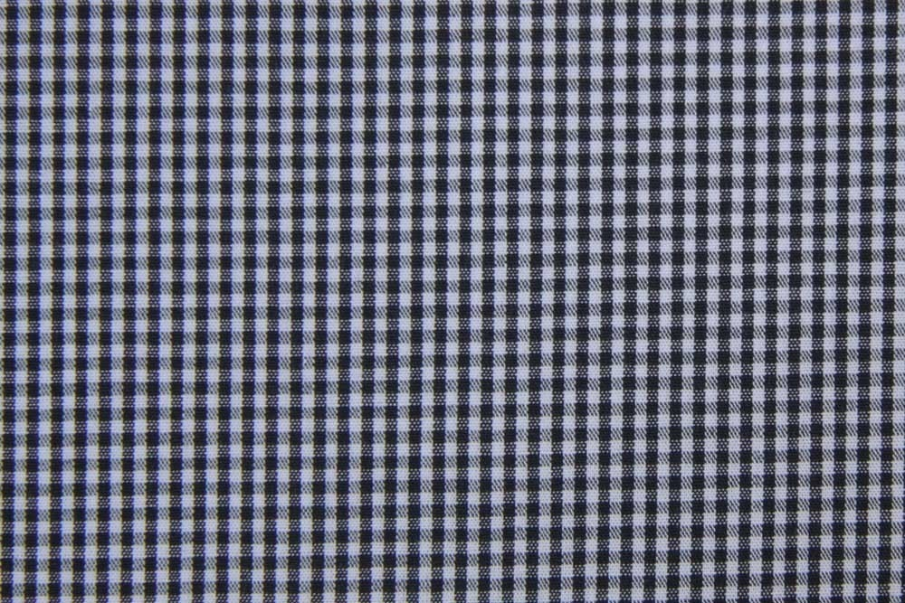 60 Inch Wide Fabric Black And White Gingham 1 Yard