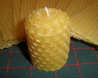 Votive Beeswax Candle Making Kit, Set of 4.