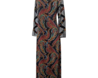 1970s Vintage Don Luis de Espana Dress