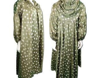 Don Loper Silk Brocade Evening Coat