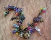 Alice in Wonderland Charm Bracelet - Entering Wonderland
