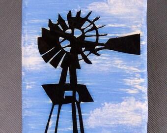 Windmill Wall Tile