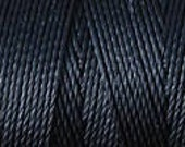 Black C Lon Nylon Bead Cord Thread 92 yards