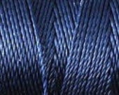 Navy Blue C Lon Beading Cord Thread Nylon 92 yards