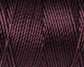 Eggplant C Lon Dark Purple Kumihimo Bead Crochet