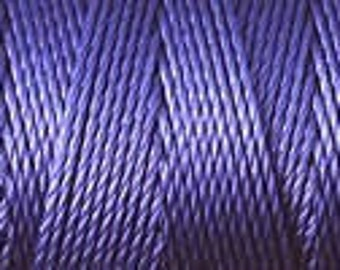 Medium Purple C Lon Beading Cord Thread Nylon 92 yards