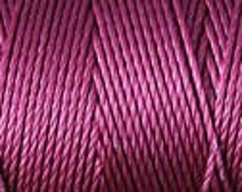 Wine C Lon Beading Cord Thread Kumihimo 92 yards