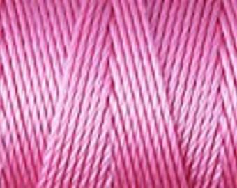 Pink C Lon Beading Cord Thread 92 yards