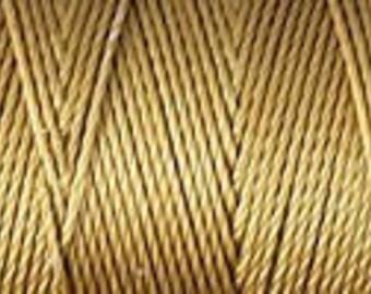 Antique Gold C Lon Nylon Beading Cord Thread 92 yards kumihimo