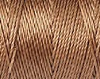 Dark Tan C Lon Beading Cord Thread 92 yards
