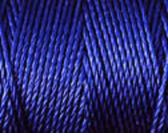 Persian Indigo Blue C Lon Beading Cord Thread Nylon 92 Yards