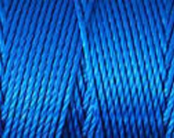 Blue Lagoon C Lon Beading Cord Thread Nylon 92 yards