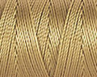 Wheat C Lon Bead Cord Thread 92 yards light gold