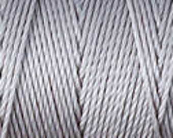 Silver C Lon Beading Cord Thread Nylon 92 yards