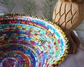 Coiled Basket - Bright Gypsy - LARGE
