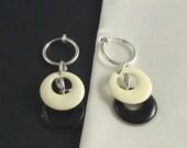 Non-Pierced -- In Black and White GoGos