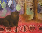 The Waggle Dance of Bears - Fine Art Print