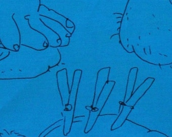 Teal Hanky- Mature