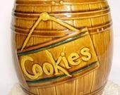 Style McCoy Cookie Jar tonneau Vintage 50 s 60 s cuisine cuisson à collectionner