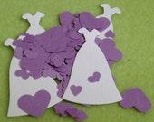 Wedding Dress Heart Confetti