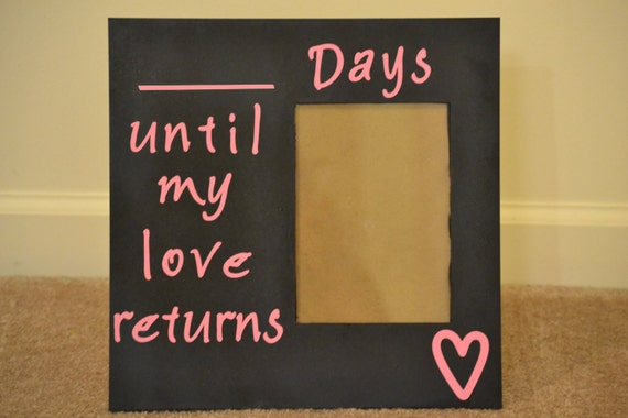 Missing My Love Countdown Frame