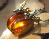 Honey Bee Earrings.......