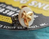 Vintage Bee Ring