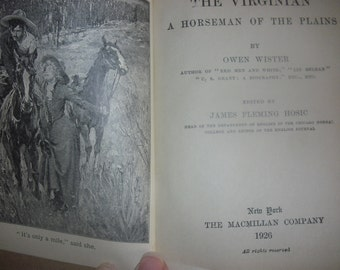 Vintage 1926 Book