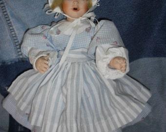 Porcelain Prairie Doll