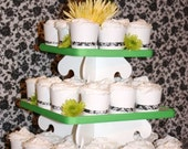 Cupcake Tower/Stand - Square - Small - Wedding Birthday Shower