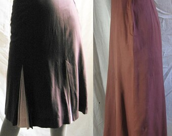 Vintage Skirt With Pink Pleats
