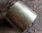 Bronze Cuff Bracelet, Wide Bronze Cuff, Industrial Textured Metalsmith Cuff, Ethnic Tribal Cuff, Warrior Goddess Bracelet