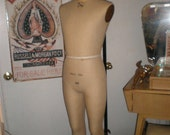 Wolf Dress Form Rare Man Mannequin ON HOLD Do No Buy