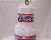 Baby on the Go,  Eco- Love Cloth Diaper Cake (2 Tier)