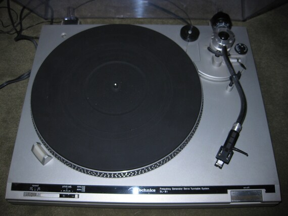 Vintage 1979 Technics Sl B1 Belt Driven Frequency Generator