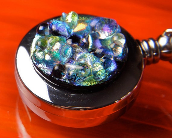Dichroic Retractable Lanyard for I.D. Badge