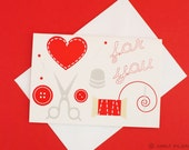 Sew Sweet All-Occasions Mini Cards, 5-pack