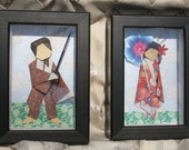 Origami Geisha And Her Samurai PLUS A SURPRISE FREE GIFT WITH PURCHASE