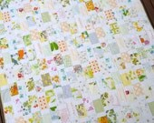 SALE SALE  -  Vintage Style   -   Floral Patchwork Quilt by Red Pepper Quilts