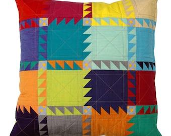 Oakshott Bear Paw Pillow - Cushion Cover Pattern (pdf file) - immediate download