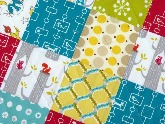 Reserved for ashleymartin -Organic Baby and Toddler Quilt