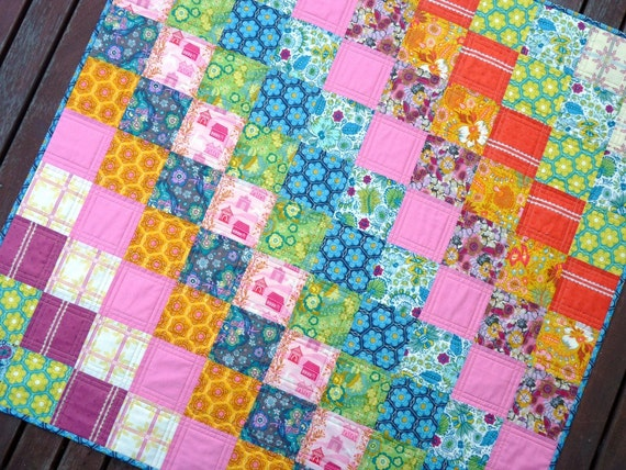 Super soft and cuddly Quilt by Red Pepper Quilts